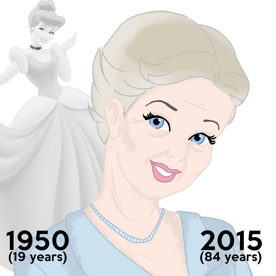 Si les PRINCESSES Disney pouvaient vieillir, à quoi ressembleraient-elles aujourd'hui ? princesse-disney-age-aujourdhui-2
