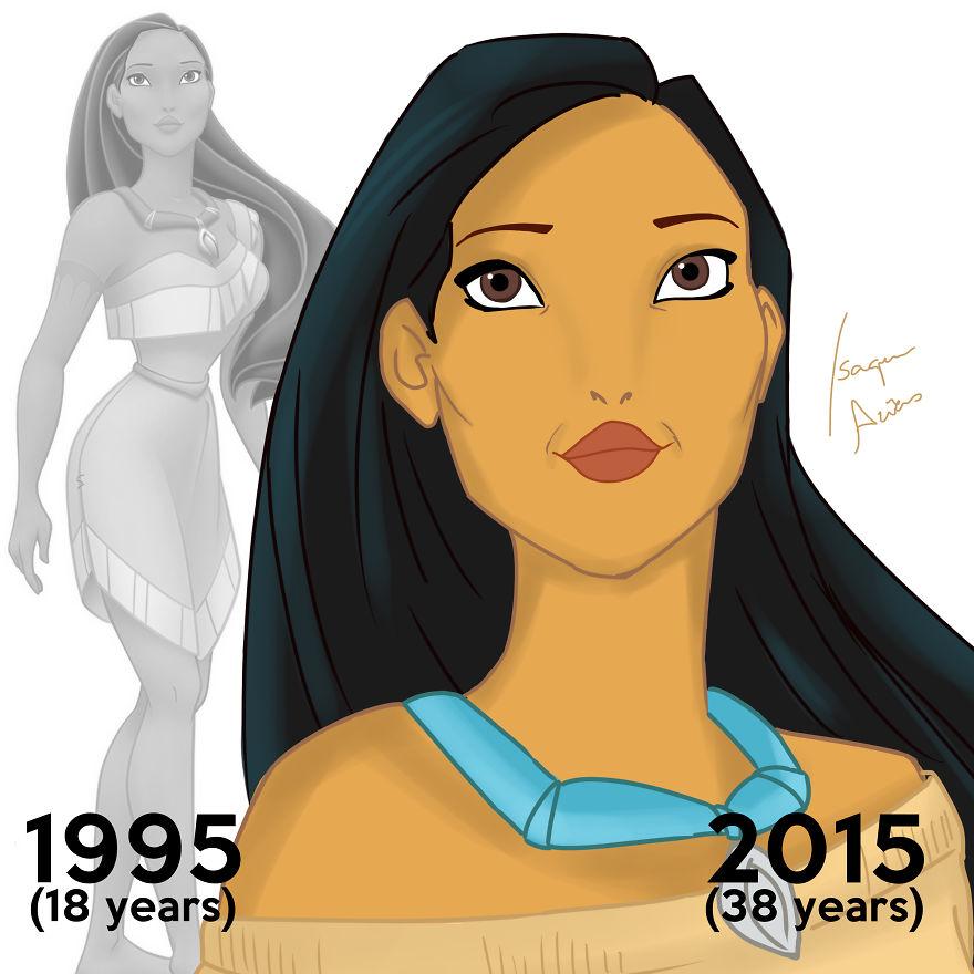Si les PRINCESSES Disney pouvaient vieillir, à quoi ressembleraient-elles aujourd'hui ? princesse-disney-age-aujourdhui-7