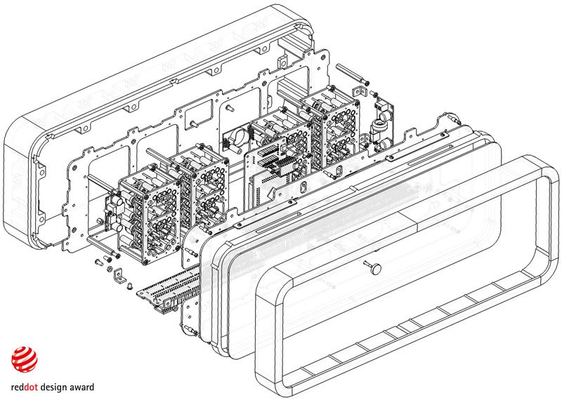 RHEI : une horloge épurée au fonctionnement original rhei-horloge-aimant-fluide-9