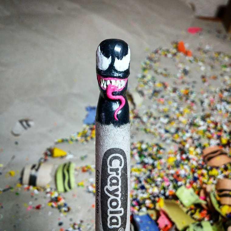 Des crayons sculptés multicolores inspirés de la pop-culture sculpture-crayola-hoang-tran-19