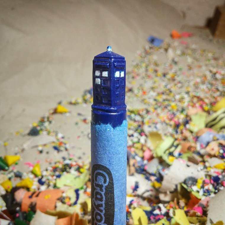 Des crayons sculptés multicolores inspirés de la pop-culture sculpture-crayola-hoang-tran-4