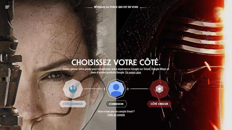 Star Wars VII : choisissez votre camp avec Google ! star_wars_google