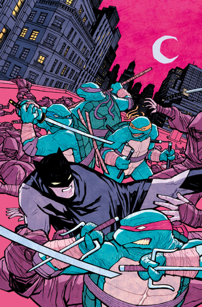 Batman vs Tortues Ninja : les premières images du crossover improbable ! tmnt1