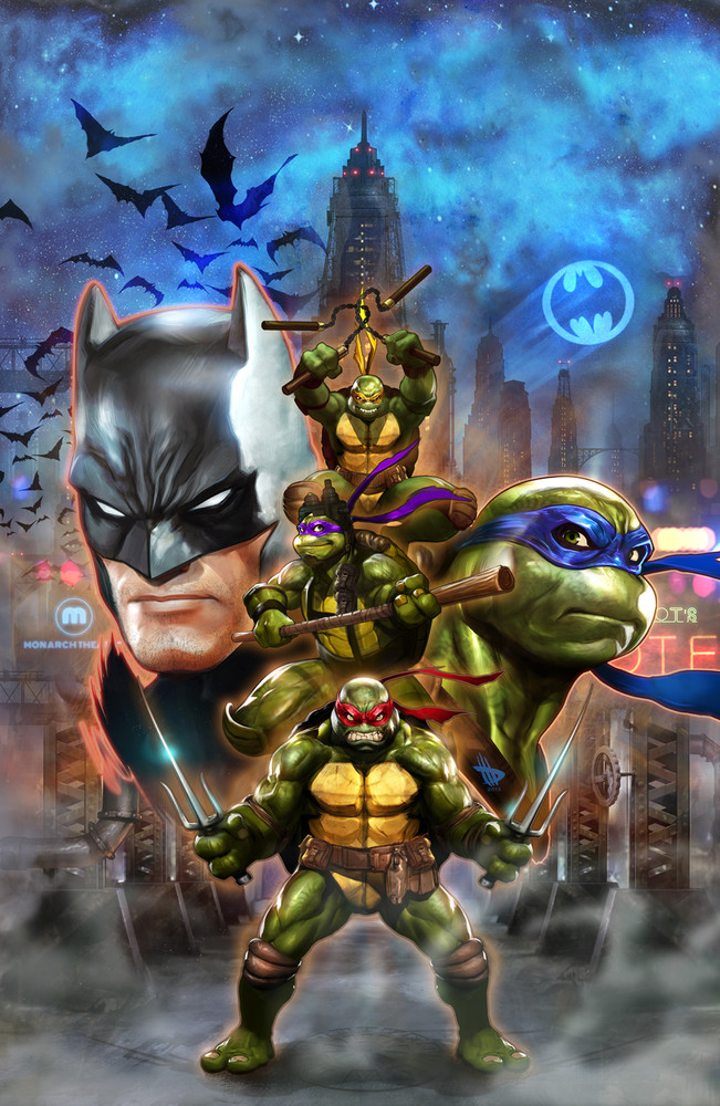 Batman vs Tortues Ninja : les premières images du crossover improbable ! tmnt3