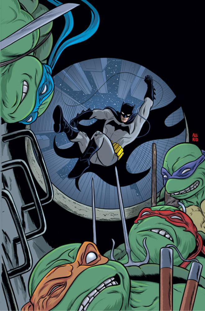 Batman vs Tortues Ninja : les premières images du crossover improbable ! tmnt6