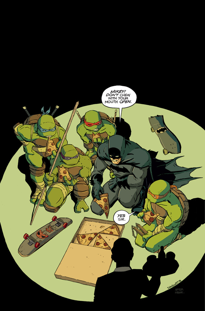 Batman vs Tortues Ninja : les premières images du crossover improbable ! tmnt8