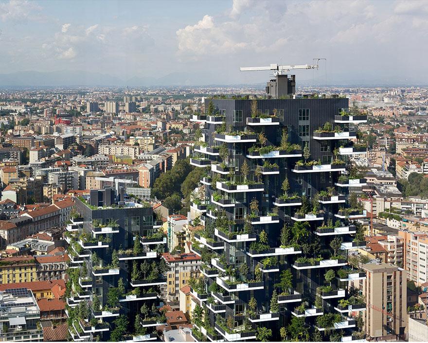 """Bientôt une """"tour verte"""" de 117 mètres de haut en Suisse tour-verte-stefano-boeri-1"""