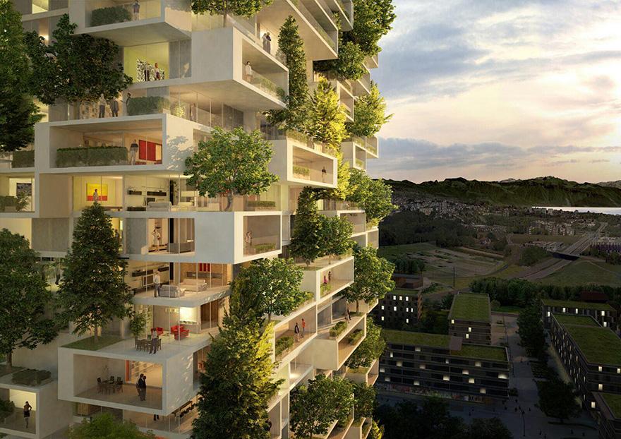 """Bientôt une """"tour verte"""" de 117 mètres de haut en Suisse tour-verte-stefano-boeri-6"""