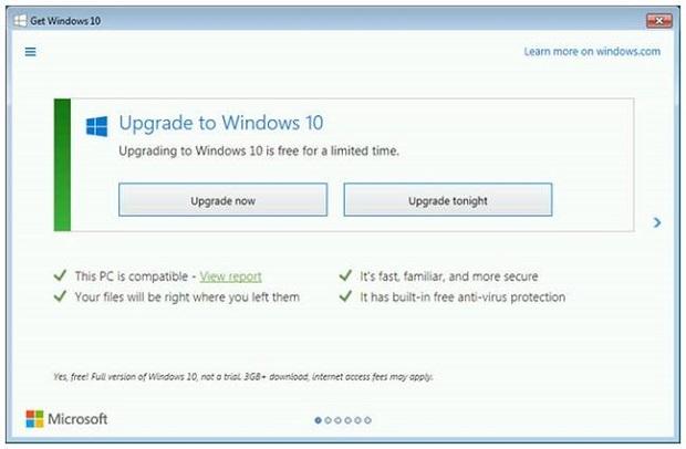 Windows 10 fait du forcing ! windows-10-pop-up