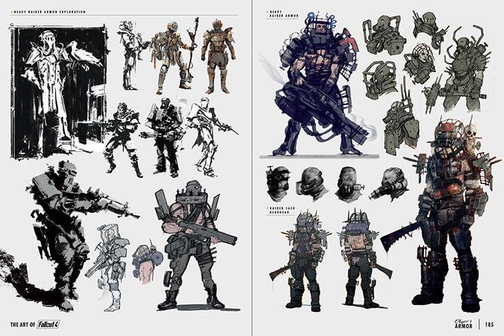 Découvrez les superbes illustrations de Fallout 4 Fallout-4-8