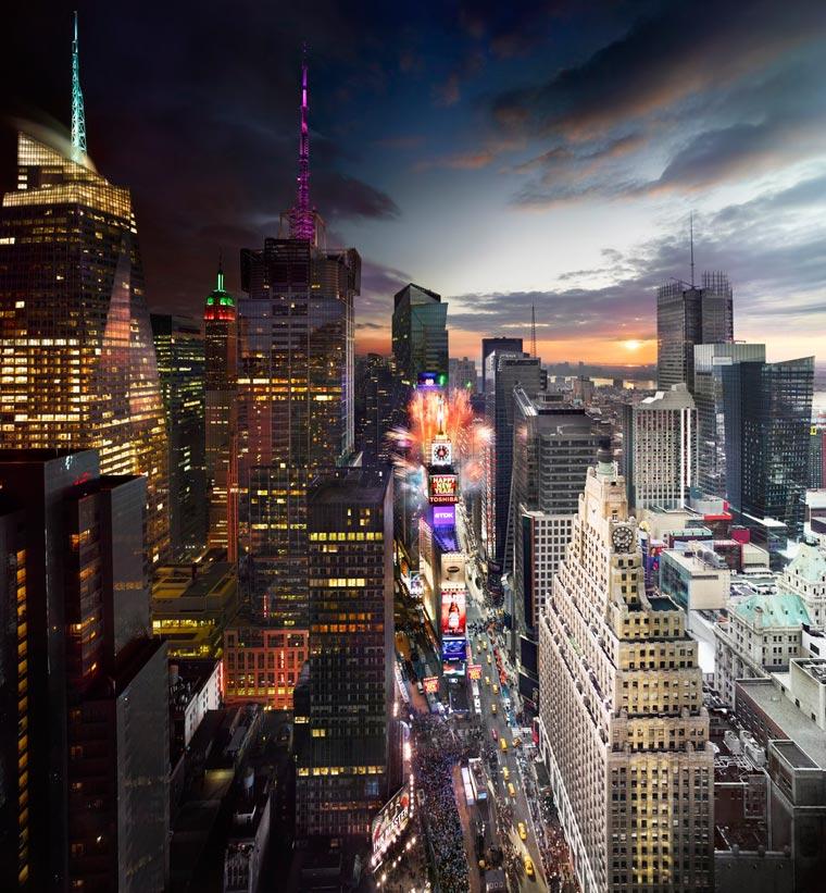 Des photographies saisissantes où le jour et la nuit se rencontrent day-to-night-stephen-wilkes-7