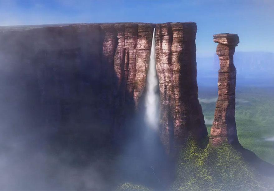18 destinations réelles qui ont inspiré les dessinateurs des studios Disney destinations-reelles-monde-disney-7