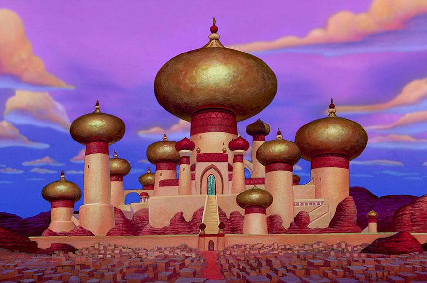 18 destinations réelles qui ont inspiré les dessinateurs des studios Disney destinations-reelles-monde-disney-9
