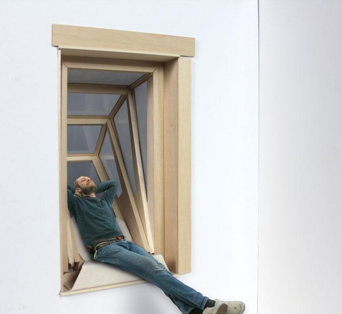 Cette fenêtre se transforme en balcon pour contempler le ciel more-sky-fenetre-balcon-5