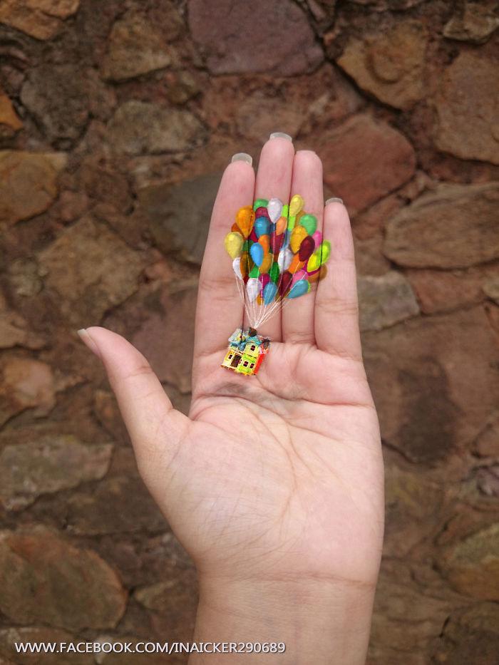 Cette jeune fille réalise des peintures en 3D sur la paume de sa main peinture-3D-paume-main-8